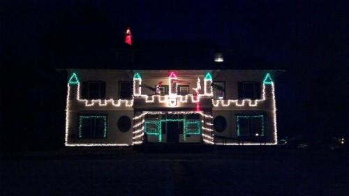 The actual frat castle. TFM.