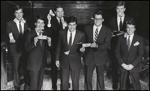 Romney and his fellow Bain executives. TFM.