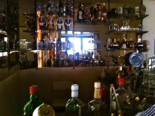 Grandpa's bar. He told me to help myself. TFM.