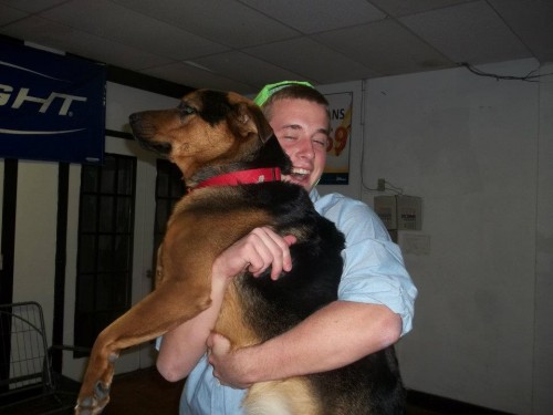 The unbreakable bond between a brother and his frat hound. TFM.