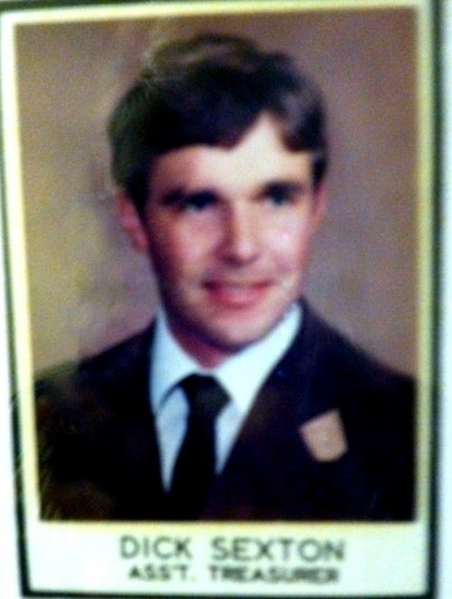 Dick Sexton, Assistant Treasurer.
