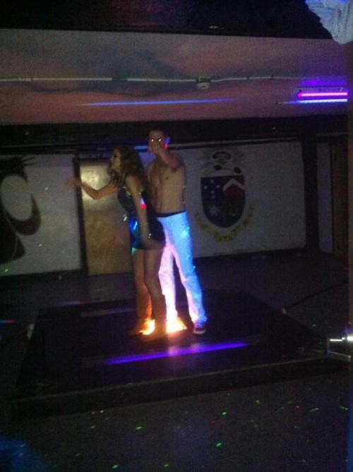 Last one on the dance floor. TFTC.