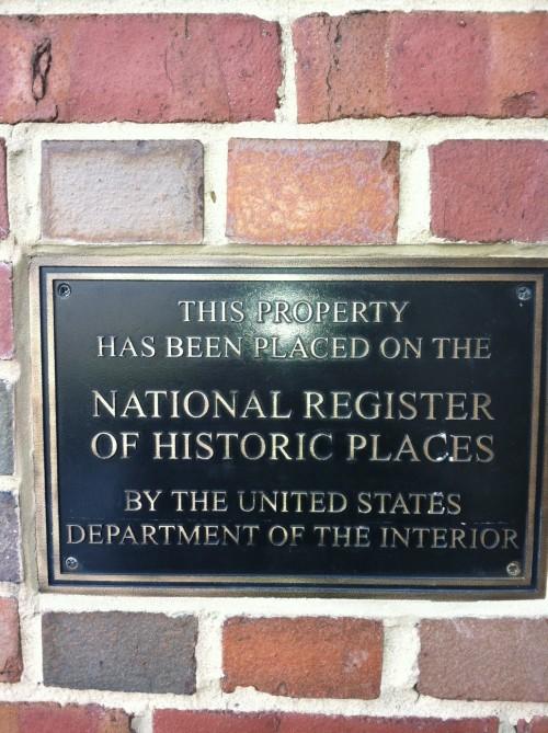 The fratcastle is a national historic landmark. TFM.