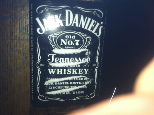 Jack and Coke. TFM.