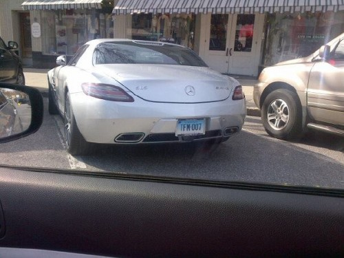 Plates: TFM 007. Spotted in Greenwich, CT.