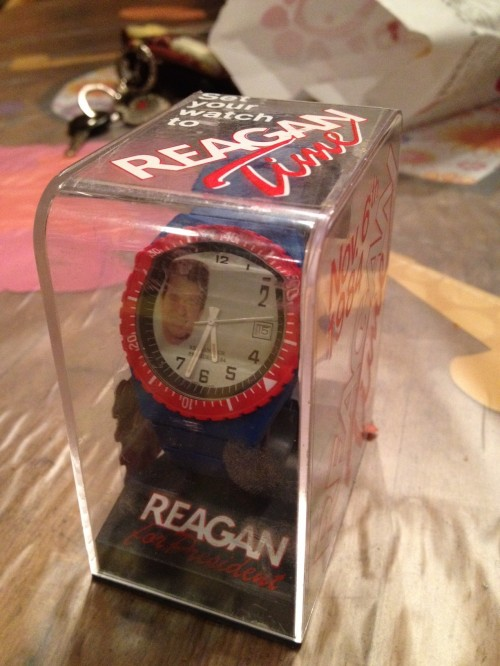 Maybe the greatest watch in existence. America runs on Reagan time.