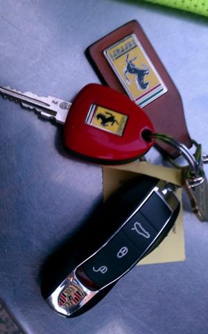 My dad's key ring. TFM.