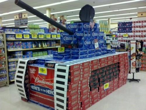 Walmart built it. The pledges will move it. We will drink it. TFM.