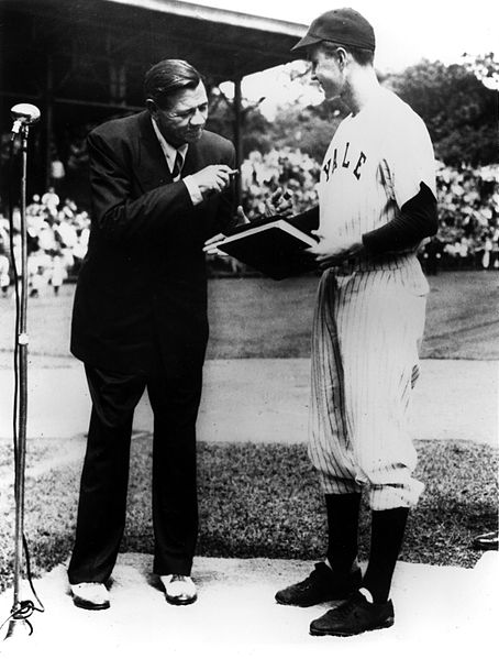 H.W. Bush and The Great Bambino. TFM.