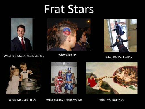 What we really do. TFM.