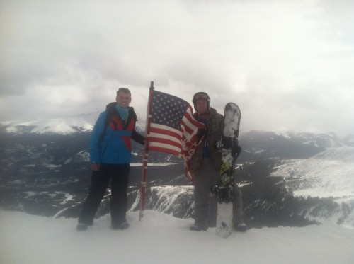No altitude can stop my love for the stars and stripes. TFM.