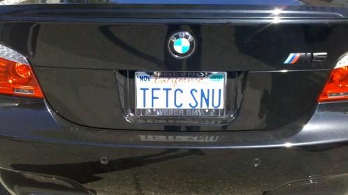 Plates: TFTC SNU