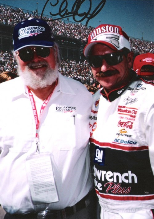 Charlie Daniels and Dale Earnhardt. FaF.