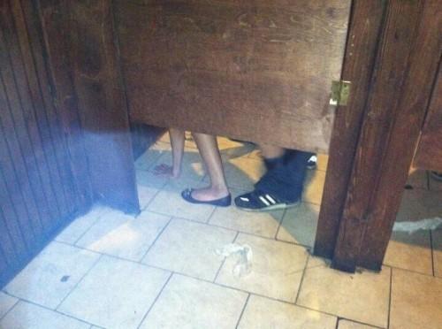 Bathroom quickie. TFTC.