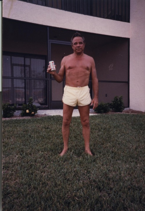 Grandpa's first day of retirement. Fort Myers, Florida circa 1980.