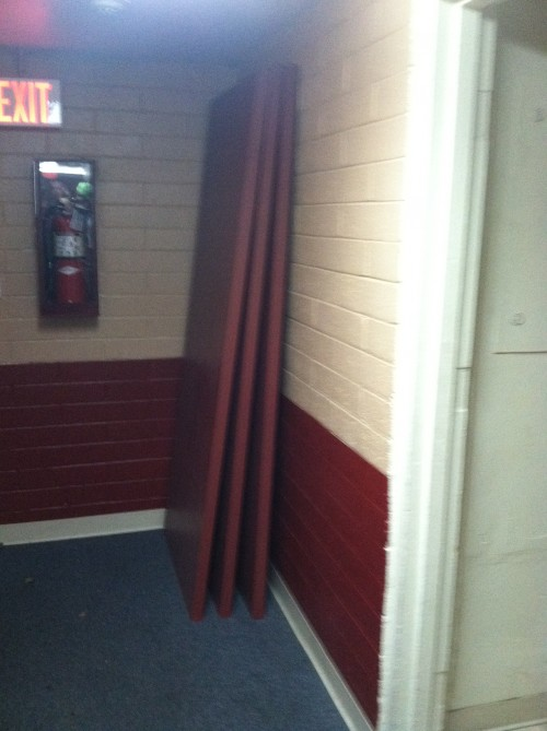 Back up doors, because you know you'll need 'em. TFM.