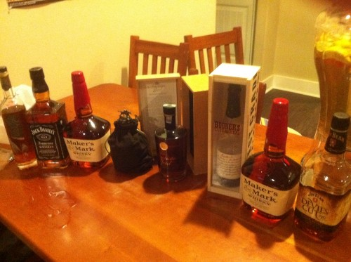 It's about to be a bourbon kind of night. TFM.