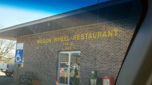 Wagon Wheel Restaurant (no geeds allowed)