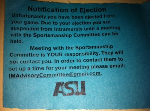 """""""Unfortunately you have been ejected from your game."""" TFM."""