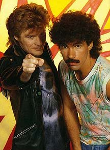 Hall and Oates rockin' the powerpoint and fratstache combo.
