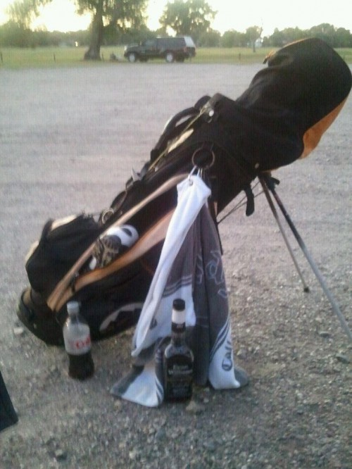 Packing your bag the right way for Monday morning on the course. TFM.