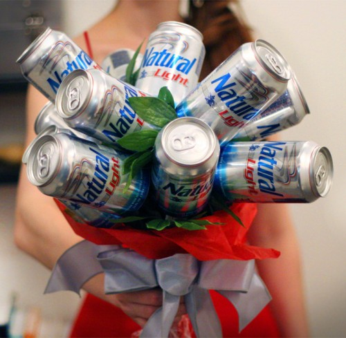 The Natty Bouquet for Valentine's Day. TFM.
