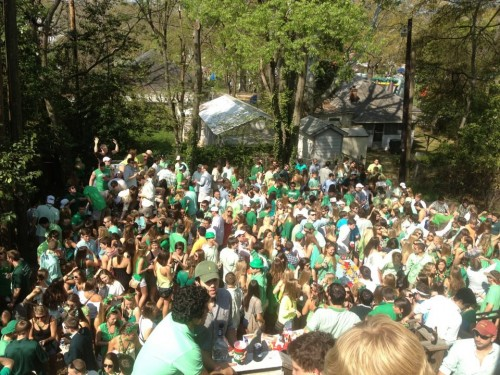 St Patty's Day party. TFM.