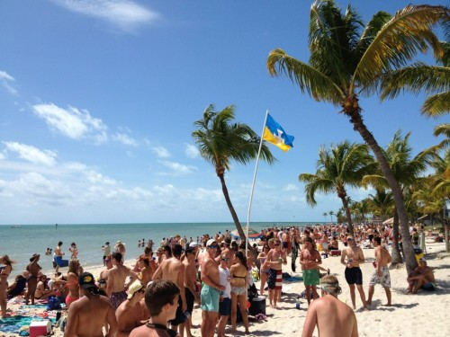 Just another day in Key West. TFM.