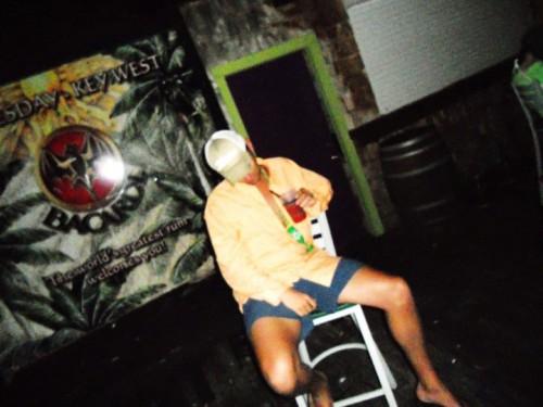 Needing a stool on the dance floor. TFM.
