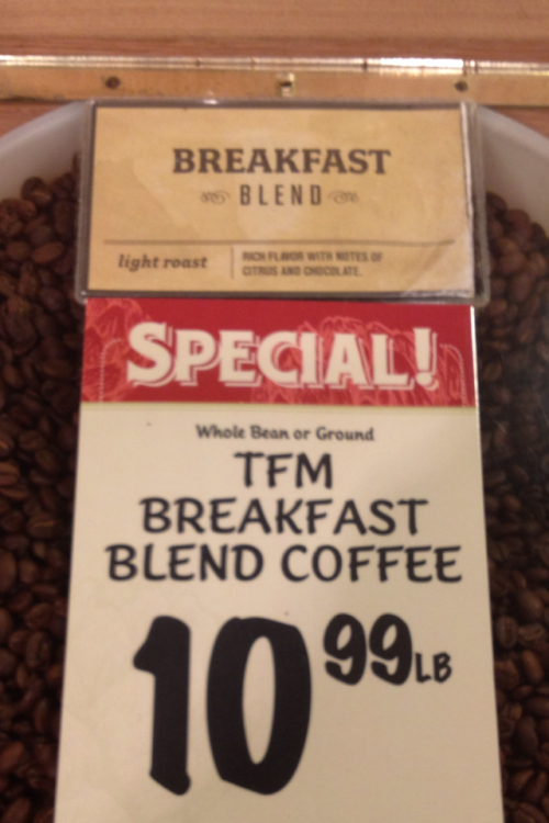 Because cheap coffee is for the poor. TFM.