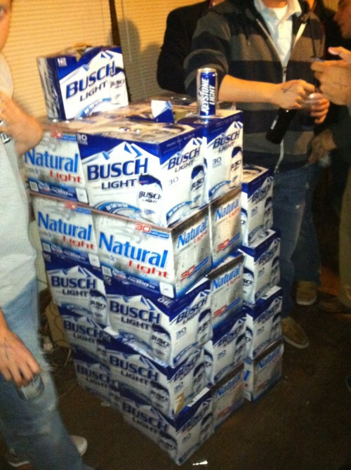 A brother buying 30 cases immediately after returning home from Afghanistan. TFM.