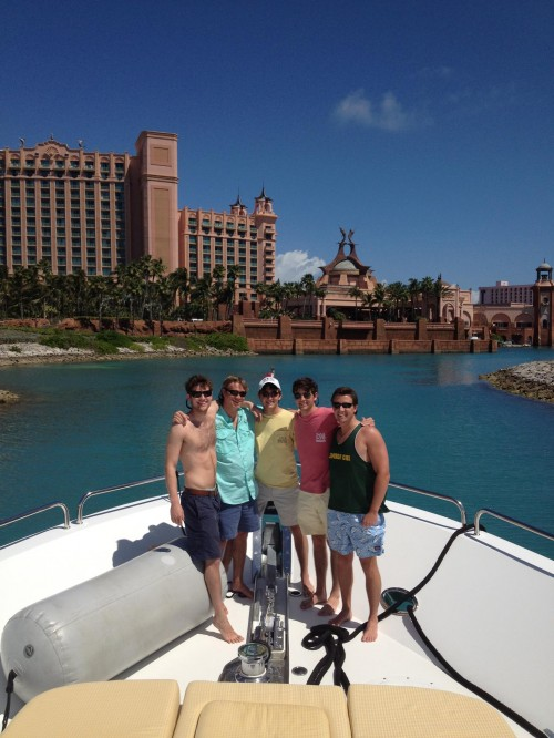 Finishing up the Bahamas tour in Atlantis, but providing your own accommodations. TFM.