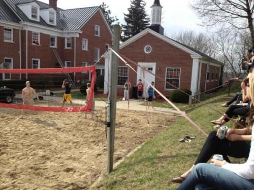 It's sand volleyball season. TFM.