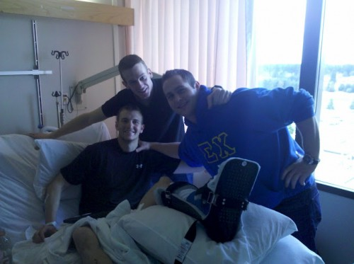 Have you seen my purple heart? TFM. Visiting our wounded warrior brother that was hit in Afghanistan.