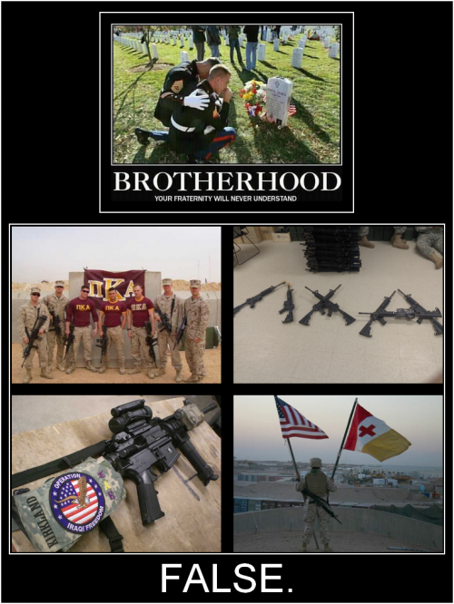 Fraternity in Military. TFM.
