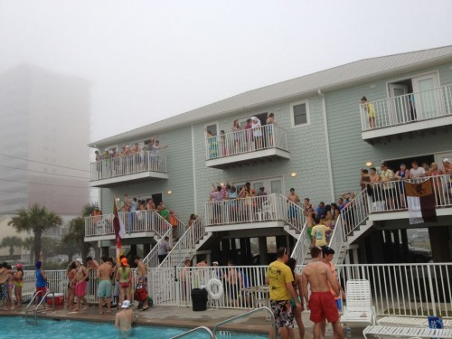 Texas takeover in Gulf Shores.