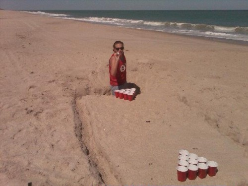 No pong table required. TFM.