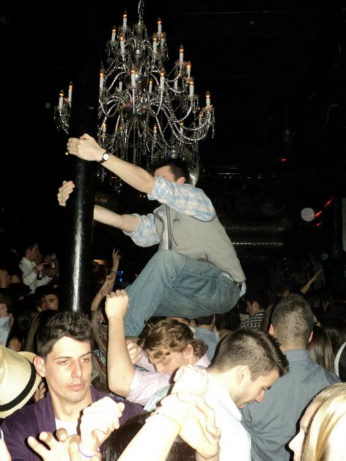 Importing American debauchery to a Barcelona Nightclub. TFM.