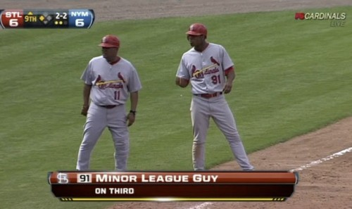 The Cardinals not naming their pledges. TFM.