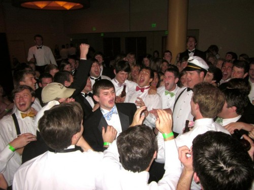 Formal at its finest. TFM.