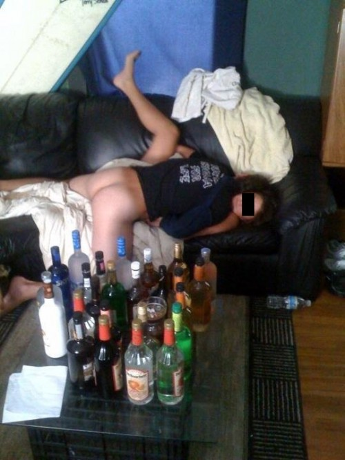 Blacking out mid-smash. TFM.
