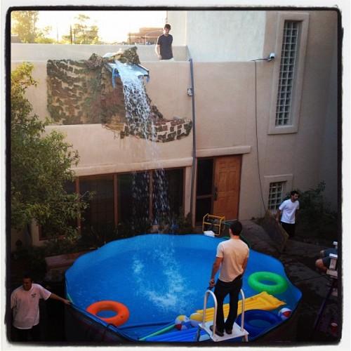 Pool party season eve. TFM.