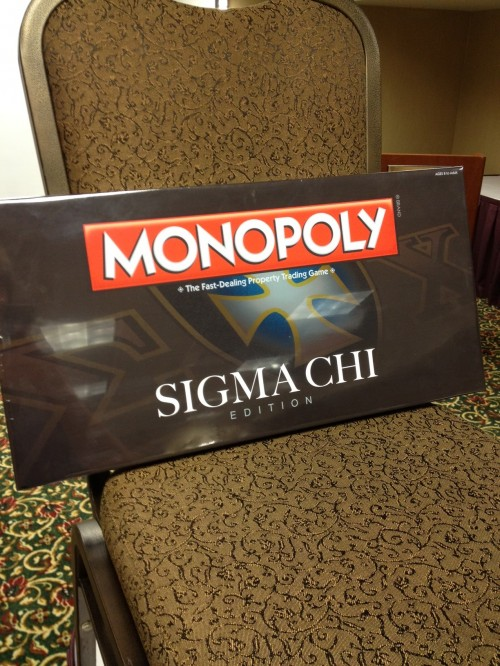Having your own edition of Monopoly. TFM.