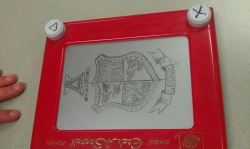 Nice etch-a-sketch work, pledge. TFM.