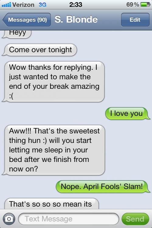 Classic April Fools. TFM.