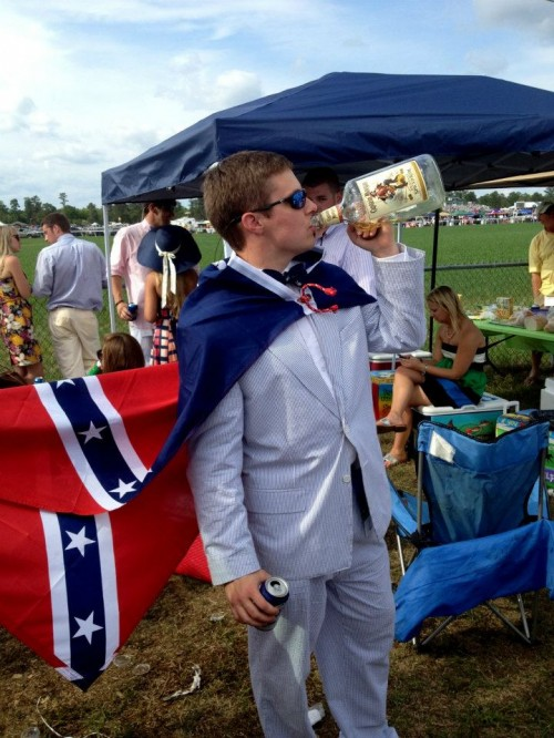 Southern heritage at the Carolina Cup. TFM.