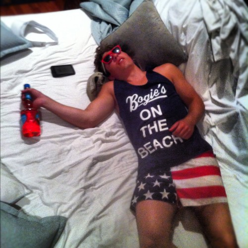 Red, white and blacked out. TFM.