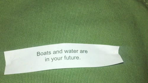 Even the Chinese know where my life is going. TFM.