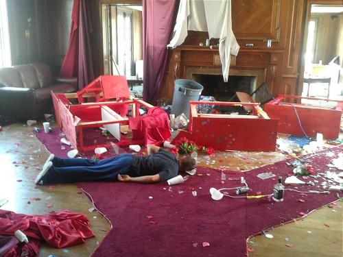 """Aftermath of """"Ménage a TAU."""""""