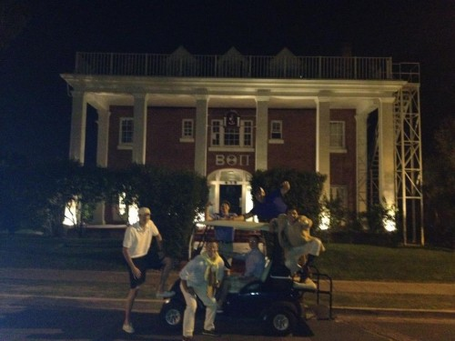Taking the theme to the streets. TFM.